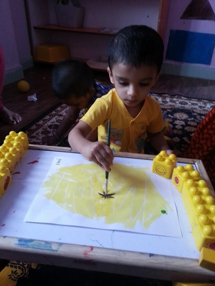 Oi Playschool child's work...activities http://www.oiplayschool.com/gajularamaram-child-work.html