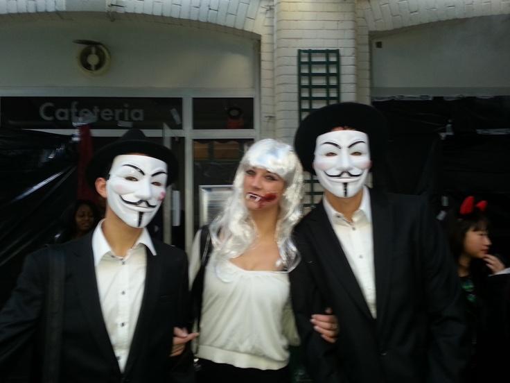 L'IICP, l'école de commerce International ESGCI et l'ESGF ont fêté Halloween sous l'impulsion des BDE.