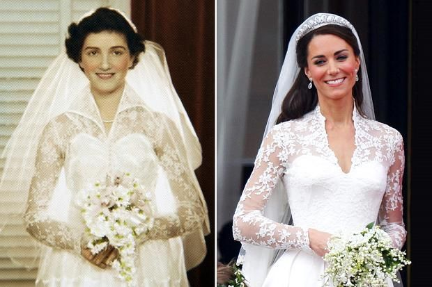 duchess kate's wedding dress | ... the difference: Kate and the time-travelling wedding dress | The Times