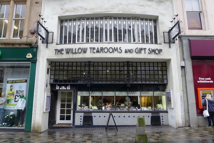 Willow Tearooms and Gift Shop Sauchiehall Street Glasgow Ecosse