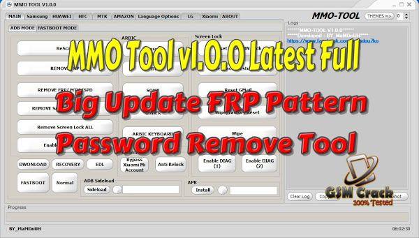 MMO Tool v1 0 0 Latest Full Setup Big Update FRP Pattern