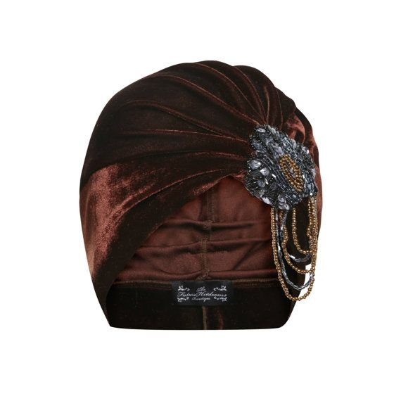 Bianca Velvet Turban by TheFHBoutique on Etsy