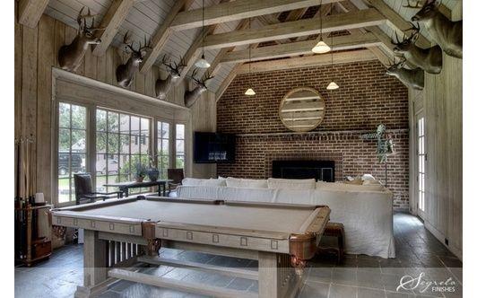 Game room - Home and Garden Design Ideas