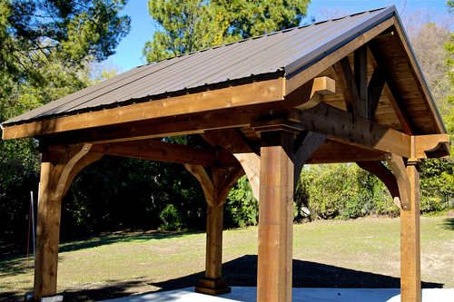 Grand Cedar Pavilion | Backyard in 2019 | Pergola carport
