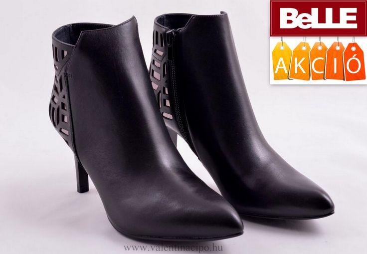 Elegáns viselet a hidegebb napokban is. BeLLE női bokacipőben biztosra mehet és a dicséretekben is úszkálhat :)  http://valentinacipo.hu/belle/noi/fekete/bokacipo/140101139  #belle #belle_cipő #valentina_cipőbolt
