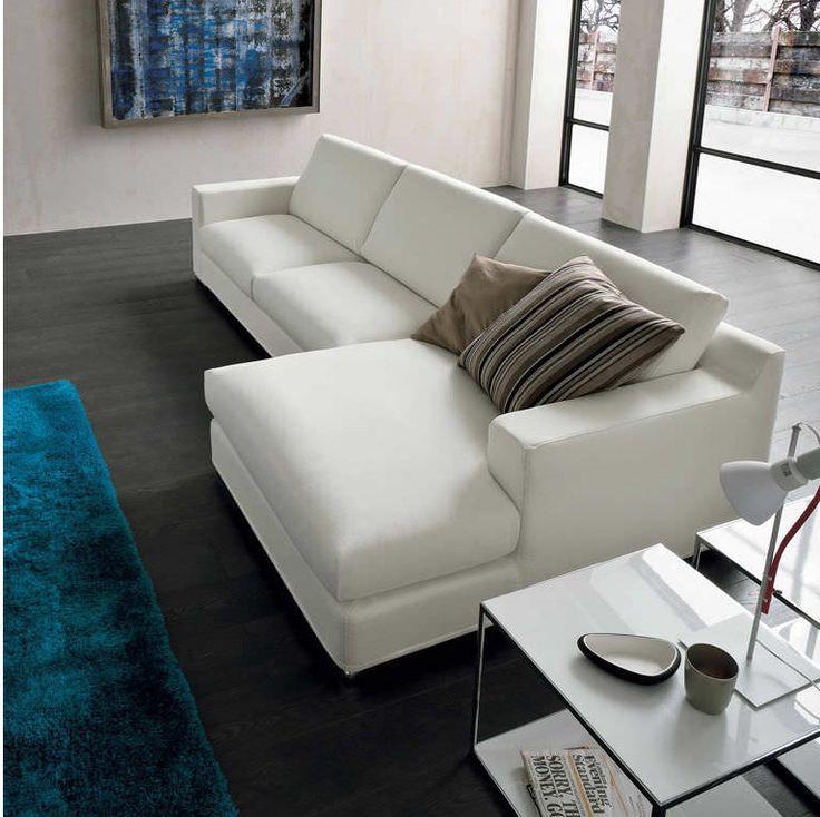Sof de esquina moderno de interior 2 plazas ovidio dall 39 agnese industria mobili - Dall agnese mobili classici ...