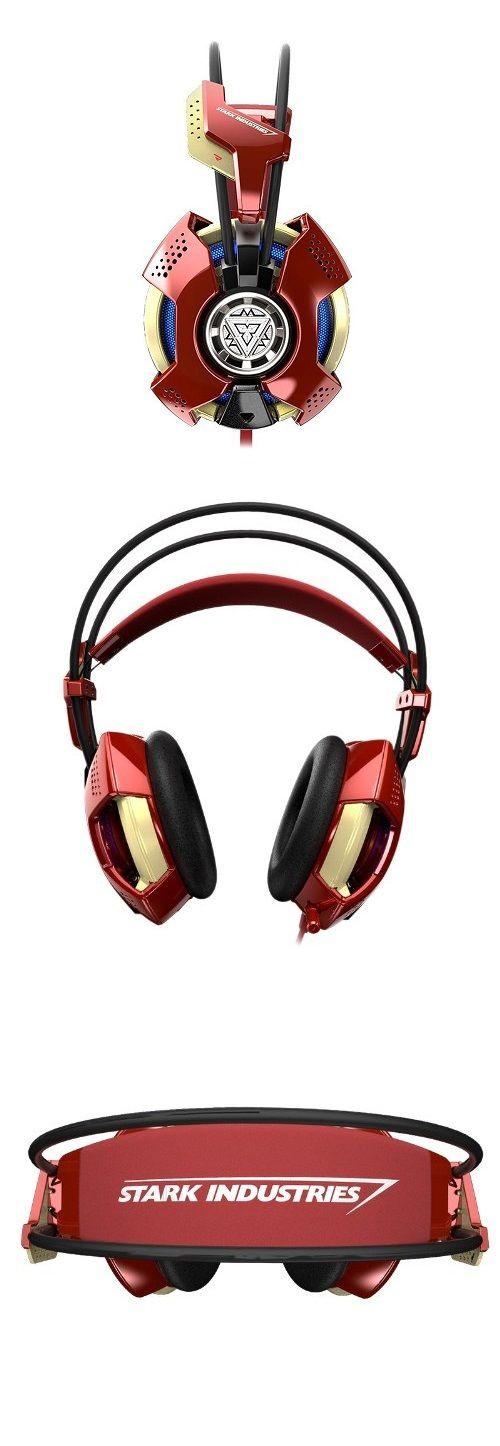 Iron Man #Headset http://gizmosandgadgets.org/iron-man-headset/