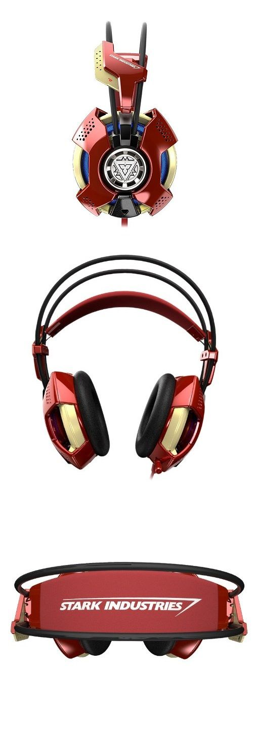 Iron Man #Headset http://gizmosandgadgets.org/iron-man-headset/