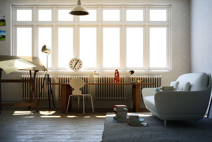 Interior Architecture and Design - Thea Render -