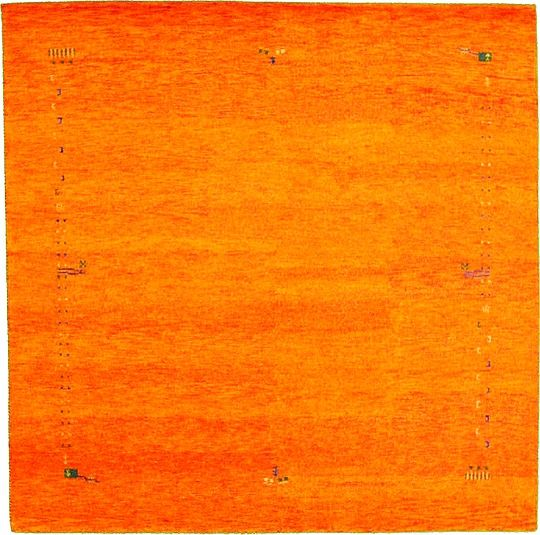 Shop Oriental Persian Gabbeh Shades Of Orange Hand Knotted: Match This Orange Modern Rug With A Light Green And