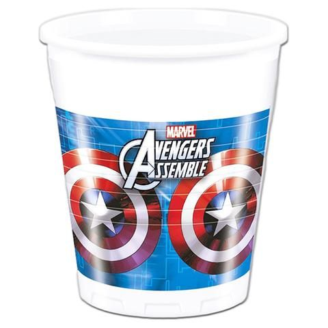 The Avengers Plastic Drinking Cups - Pack Of 8