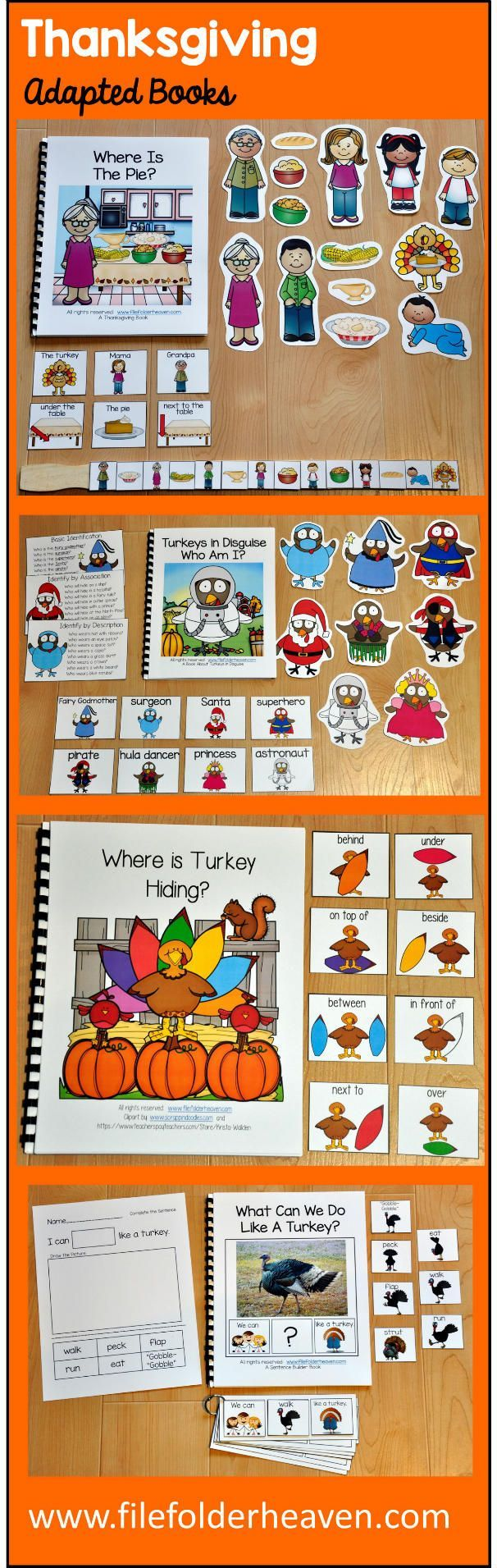 So many Thanksgiving Adapted Books, so little time! :)