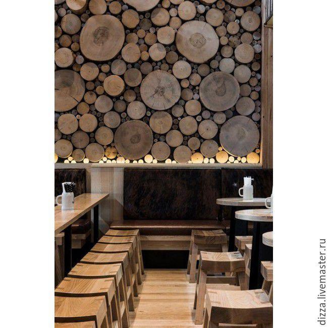 Купить Экостена - отделка стен деревом - комбинированный, массив дерева, массив сосны, массив дуба