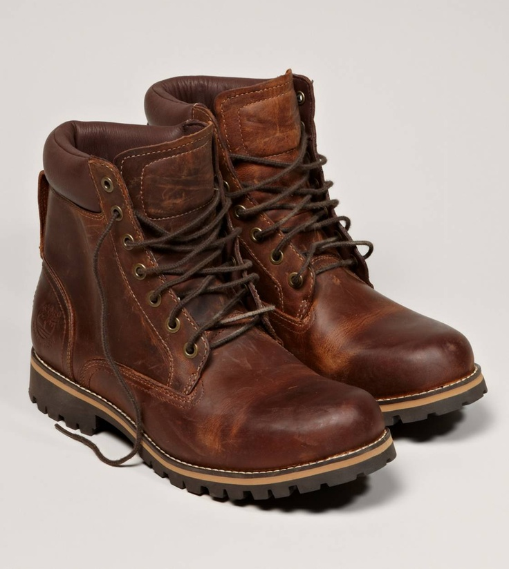 Timberland Earthkeepers Rugged 6 in Waterproof Plain Toe Boot -George F., Senior Creative Director