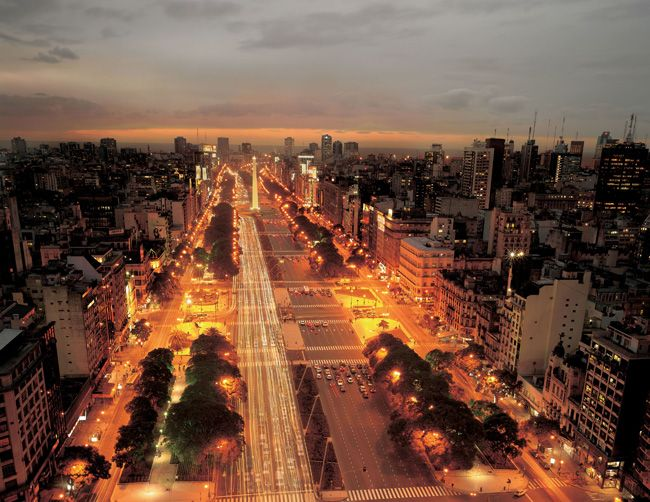 Avenida 9 de Julio, the world's widest street, is in the heart of Buenos Aires. TPG Managing Editor Eric brings us our weekly Destination of the Week Post... For the first time ever, we tango south of the equator for our Destination of the Week, and head to the vibrant city of Buenos Aires, Argentina. THINGS TO DO In recent years, Buenos Aires has become one of the world's premier international destinations thanks to a great exchange rate, heaps of culture, excellent food and more and more…