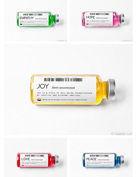 In a world where everyone except your character uses medication in order to feel/control emotion, how would your character convince mine to stop uses these doses?