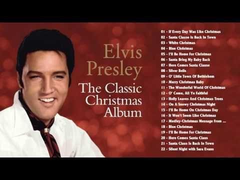 Best Christmas Songs By Elvis Presley - Merry Christmas 2017 - YouTube