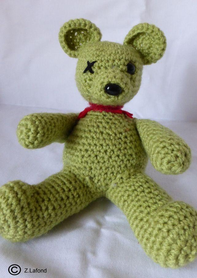 Amigurumi Twisted Ted : Headless Zombie Bear  £11.00