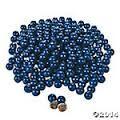 Donkerblauwe  chocoladeballetjes ( 50 gram)