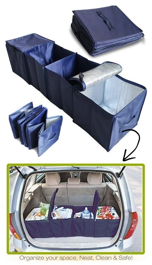 55 Genius Storage Inventions That Will Simplify Your Life -- A ton of awesome organization ideas for the home (car too!). A lot of these are really clever storage solutions for small spaces.