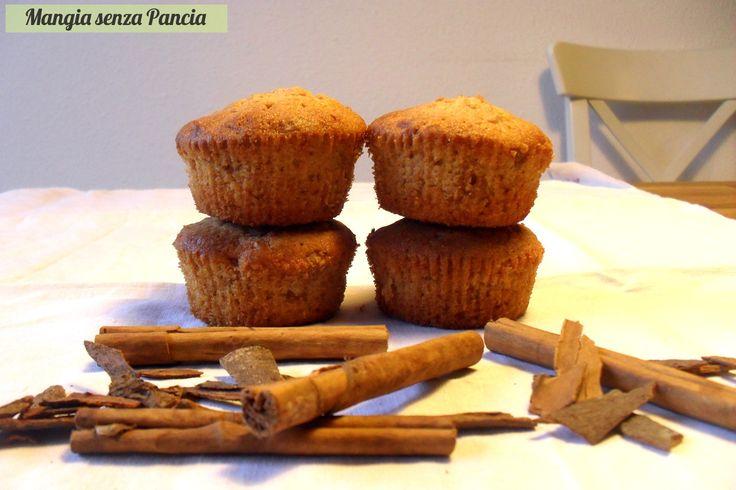 Cupcakes mela e cannella light