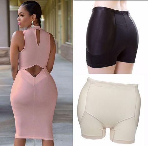 Women Butt Lifter Body Shaper Underwear Pants Buttocks Booty Enhancer Lift Bum