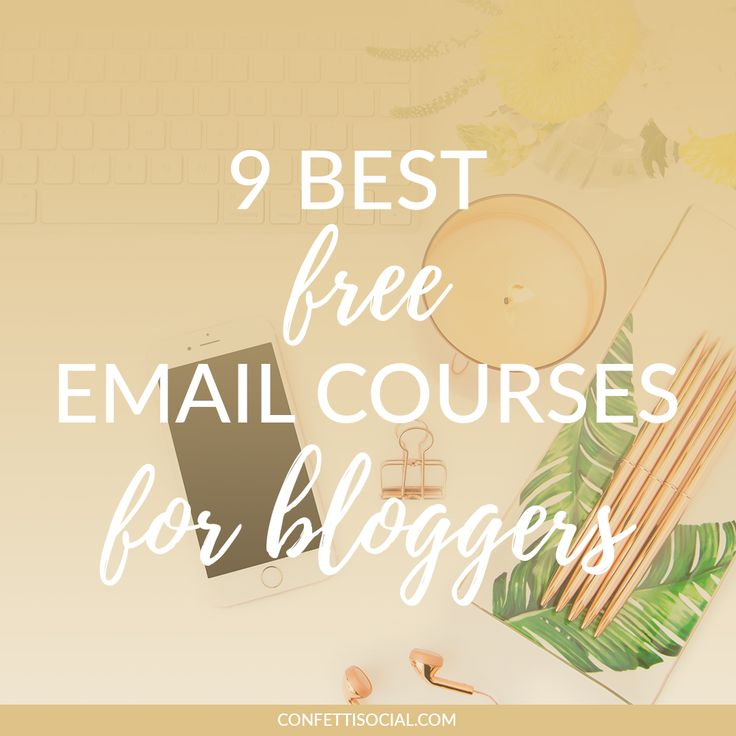9 Best Free Email Courses for Bloggers