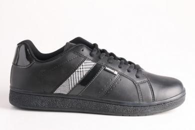 Lotto- Erkek Siyah Bağcıklı Spor Ayakkabı