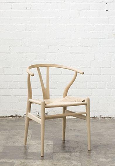 Hans Wegner CH24 Wishbone Chair, Mark Tuckey, approx. $1200 each (OR $295 each from Matt Blatt)