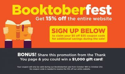 booktoberfest - Book Outlet Sale #deal #reading #books #Shopping (scheduled via http://www.tailwindapp.com?utm_source=pinterest&utm_medium=twpin&utm_content=post108315485&utm_campaign=scheduler_attribution)