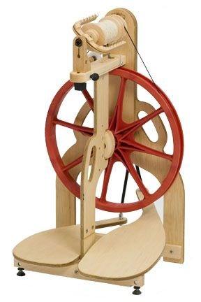 Ladybug Spinning Wheel - I love this wheel, so fast and easy to use. Takes less than an hour to set up!