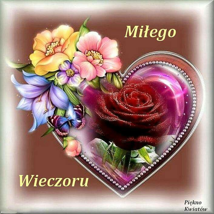 Pin By Regina Tokarska On Milego Wieczoru Flower Heart Heart Wallpaper Beautiful Flowers