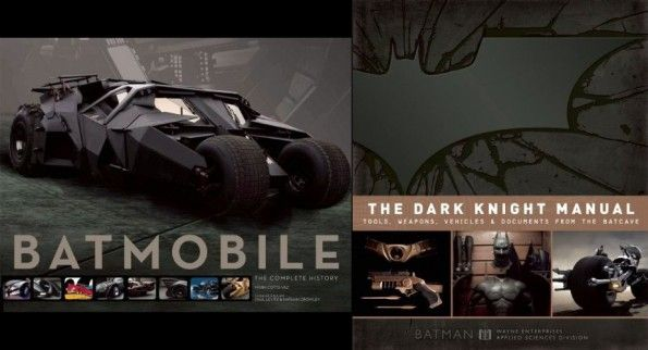 "Review of ""The Dark Knight Manual"" and ""Batmobile: The Complete History"": The Dark Knight, Book Review, Books Review"