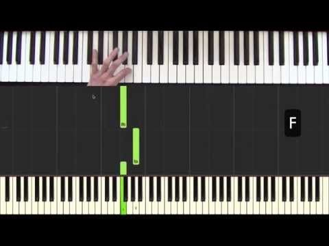 Hallelujah - leçon 3 - Cours de piano facile pour débutants - YouTube