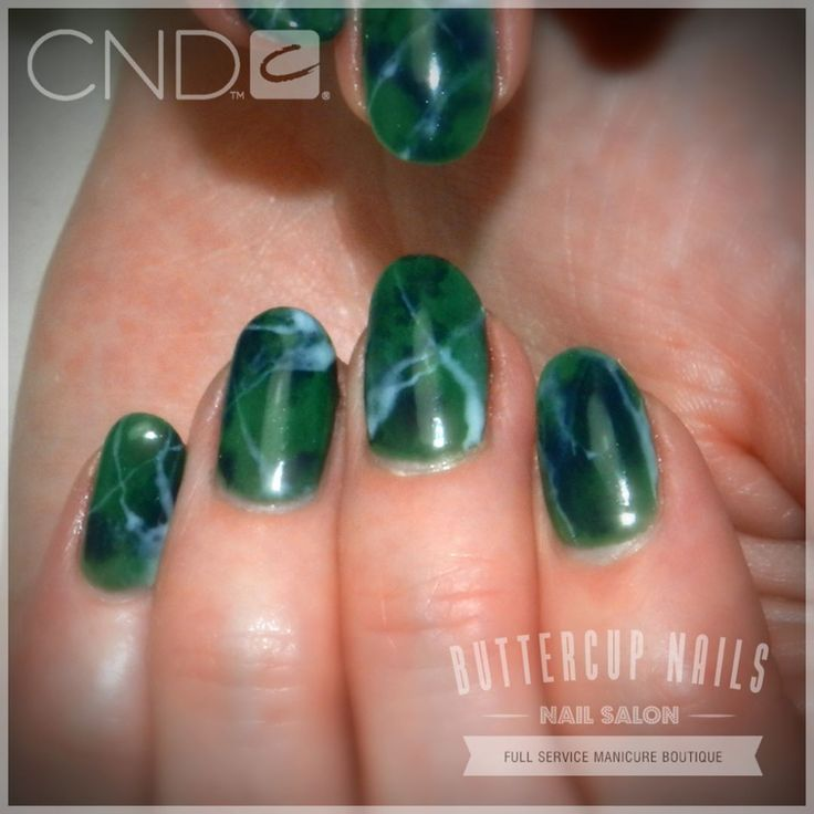 CND Shellac in Palm Deco with Indigo Frock and Studio White marbling.    #CND #CNDWorld #CNDShellac #Shellac #nails #nail #nailstagram #naildesign #naildesigns #nailaddict #nailpro  #nailart #nailartist #nailartdesign #nailartofinstagram #nailartdesigns