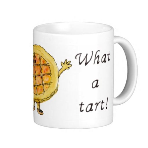 Say it with #cake or #tart for that matter. Let this tongue in cheek #humorous #treacletart convey those timeless words 'What a tart!'. It's sure to grab the attention of any #foodie. http://www.zazzle.co.uk/what_a_tart_treacle_tart_coffee_mug-168173563561653508?rf=238078077958492405