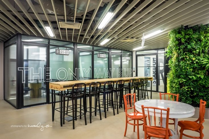 Inside The Hangar's Cool Singapore Coworking Space - Officelovin