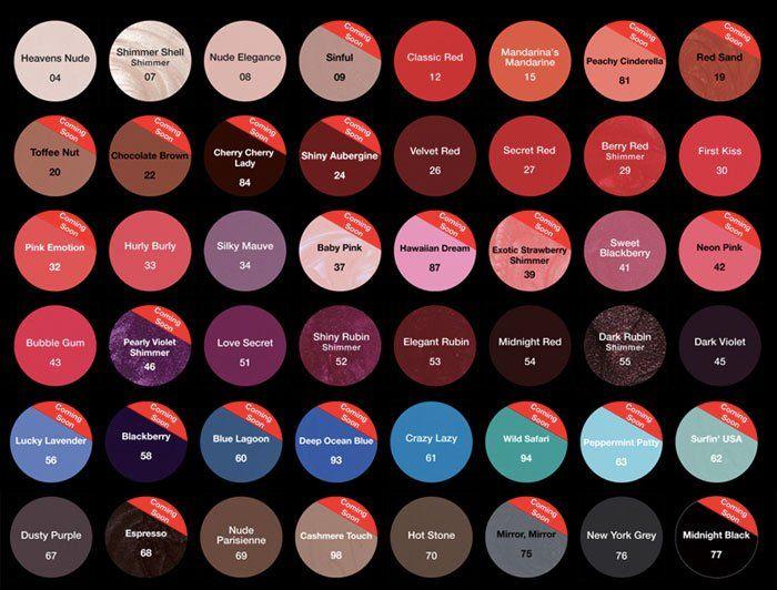 striplac - Nuancier Crazy Color