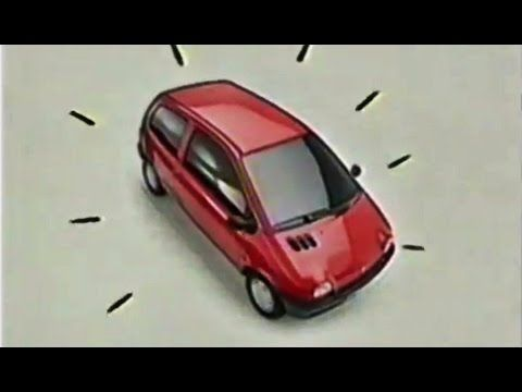 1993 Nuevo Renault Twingo - Rompe los moldes - Publicidad España Spain Anuncio…