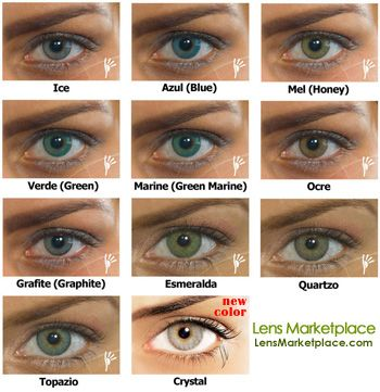 Color Contacts For Dark Eyes Here S The Natural Colors