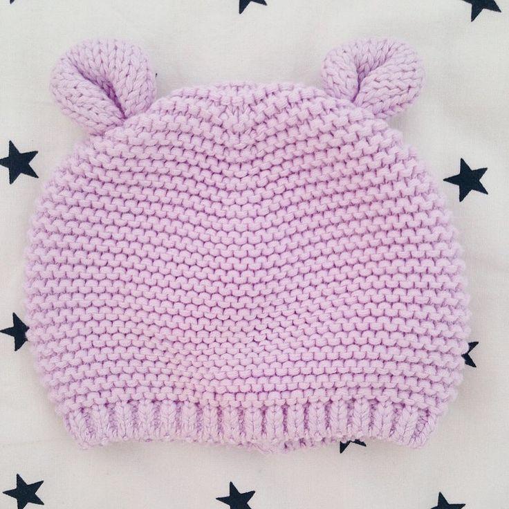 А вы видели когда-нибудь лиловых медвежат? А мы видели-на сайте Kidtobaby.com  Милейшая шапочка с ушками Gap редкой расцветки🔮, для самой маленькой девочки возрастом 0-3 мес. (р.62), 200  #kidtobaby #kidtobaby_товары