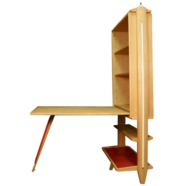 Shelves Desk by Maurice Pre and Janette Laverriere  France 1951