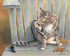 Foot Wash – Cat by Susan Bourdet