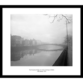 This print was taken on a misty morning in Dublin on the 10th January 1970.
