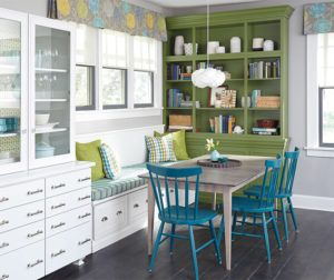 Color Your World – Colored Cabinet Trends – Welcome to Ciao Interiors