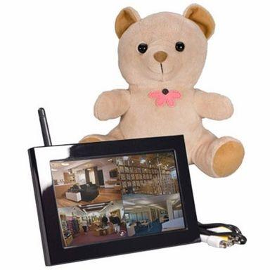 KJB Xtreme Life Teddy Bear QUAD LCD #SecPro #Security #Pro #USA #SecurityproUSA #Law #Government #Enforcement #Military #Army #Navy #CIA #FBI #Spy #Gadget #Equipment #Cameras #CCD #Bionic #GPS #Tracker #Recorder #BugDetector #Detector #Pinhole #NightVision #Jammer #HiddenCameras #KJB