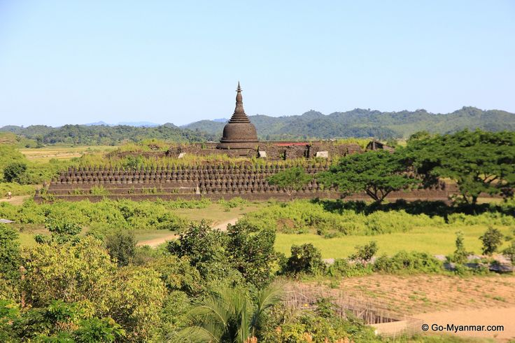 Mrauk U was the capital of an ancient Arakan (Rakhine) kingdom.  Go here for more information on Mrauk U: www.go-myanmar.com/mrauk-u-Mrauk-oo