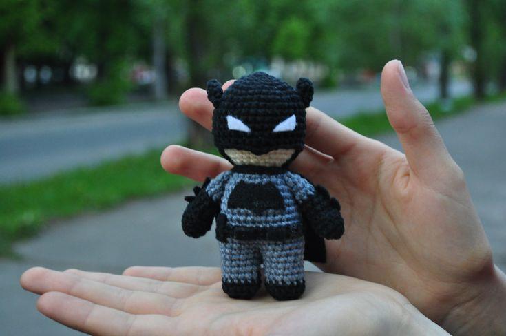 Crochet Batman / Batman / Batman vs Superman / Dark Knight / Batman  amigurumi…