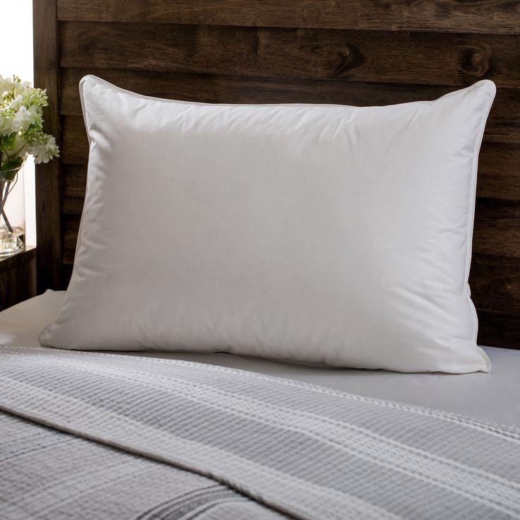 European Heritage Down Opulence Hypoallergenic Medium Firmness Goose Down Pillow