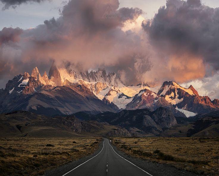 El Chalten road, Patagonia